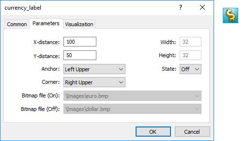 OBJ_BITMAP_LABEL オブジェクトプロパティ